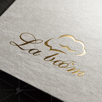 LABOOM-蛋糕店logo
